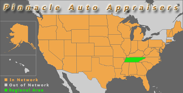 map nashville tennessee auto appraiser appraisal diminished value